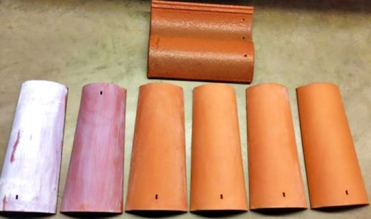 Coated-roof-tiles